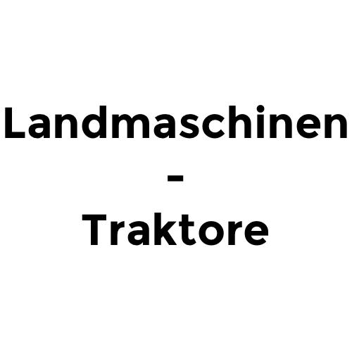 Landmaschinen - Traktore